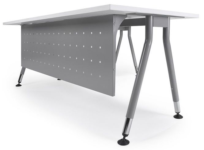 Office Table with Modesty Panel