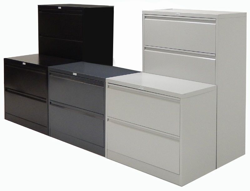 Lateral Filing Cabinets, colour options