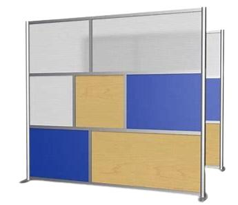 Glass or perspex inserts